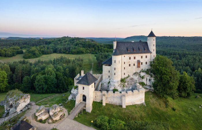 Castle in Bobolice