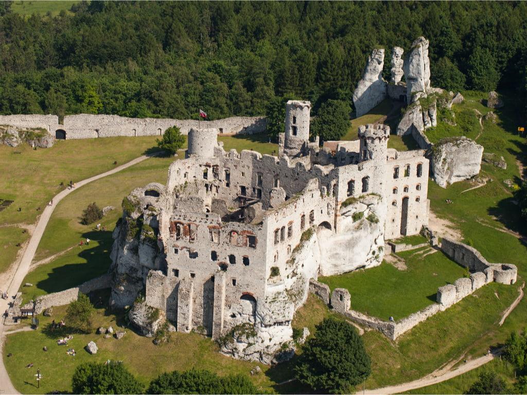 castle in Ogrodzieniec