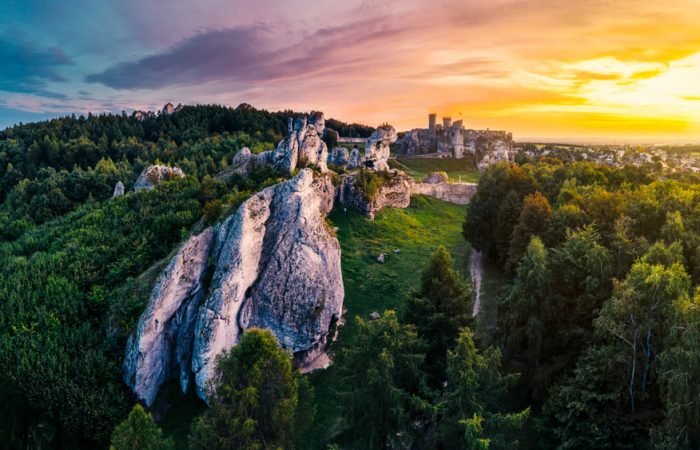 Landscape of Ogrodzieniec