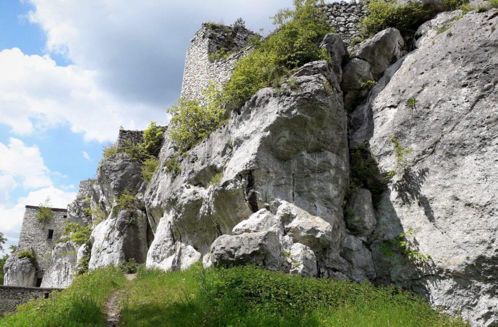 Castle Bakowiec in Morsko
