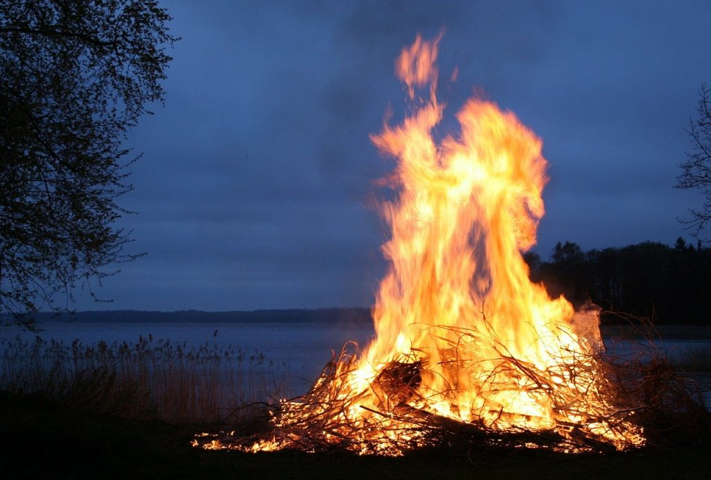 Fire on Kupala's Night