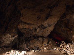 Wierzchowska Gorna Cave - one of the Halls